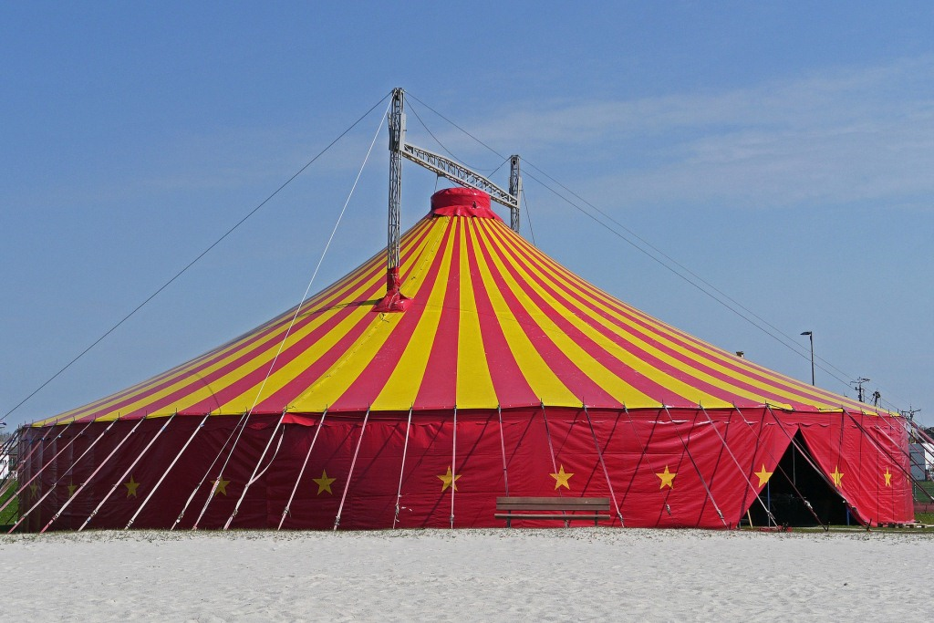 alquiler carpa circo