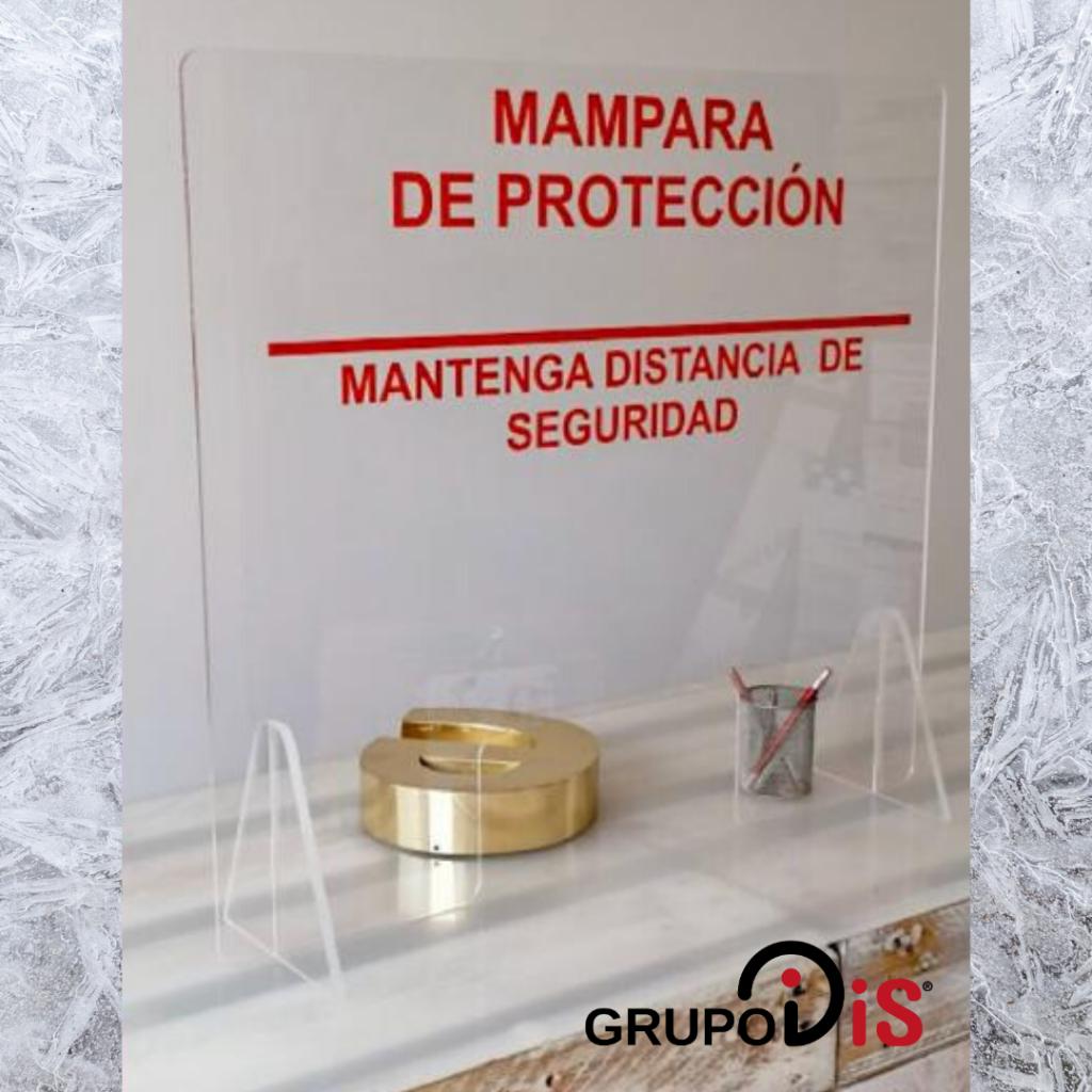 Mampara protección COVID-19